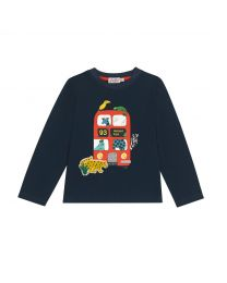 Animals Kids Long Sleeve Everyday T-shirt