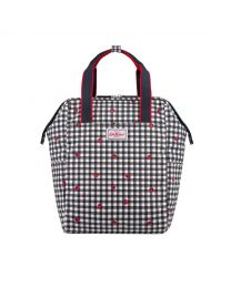 Ladybug Gingham Backpack Nappy Bag