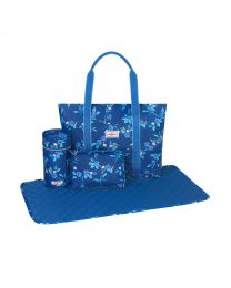 Greenwich Flowers Core Tote Nappy Bag