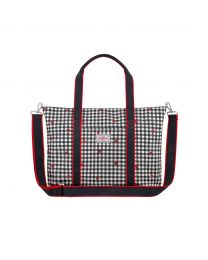 Ladybug Gingham Core Tote Nappy Bag