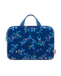 """Greenwich Flowers 13"""" Laptop Sleeve with Handle"""