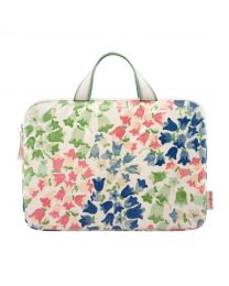 """Painted Bluebell 13"""" Laptop Sleeve with Handle"""