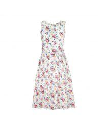Summer Floral Tiered Skirt Dress