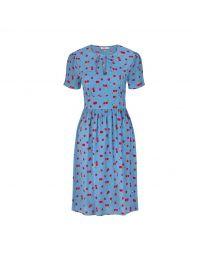 Cherries Tea Dress
