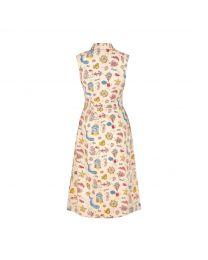 Summer Time Tie Waist Shirt Dress