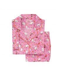 Moomins Linen Sprig Short Sleeve PJ Set