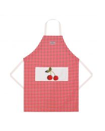 Small Gingham Easy Adjust Apron
