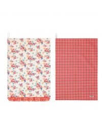 Small Gingham Set of Two Tea Towels