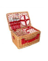 Cherries Picnic Basket