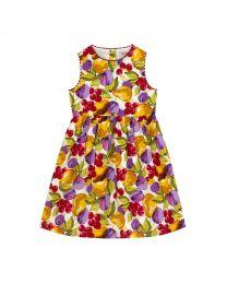 Small Painted Fruit Kids Charlotte Dress