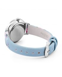 Candy Flower Blue Strap Watch
