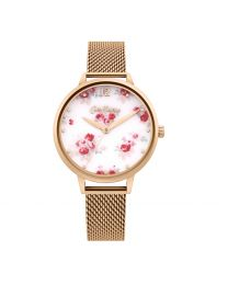 Lancing Roses Rose Gold Bracelet Watch
