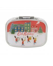 Christmas Village Compact Mirror Lip Balm 6g