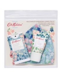 Painted Bluebell Commuter Kit (Face Mask, 15ml Moisturising Antibacterial Hand Spray, 30ml Hand Cream)