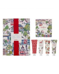 London View Bathing Set (30ml Body Wash, 30ml Body Lotion, 30ml Body Scrub, 30ml Hand Cream & 200g Bath Salts)