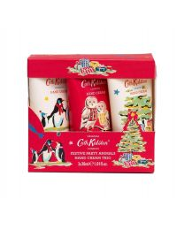 Festive Party Animals Hand Cream Trio  (3 x 30ml)