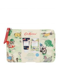 Park Dogs Cosmetic Pouch (with 30ml Hand Cream and 15ml Moisturising Antibacterial Hand Spray)